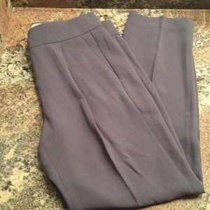 J Crew Pleated Crepe Trouser
